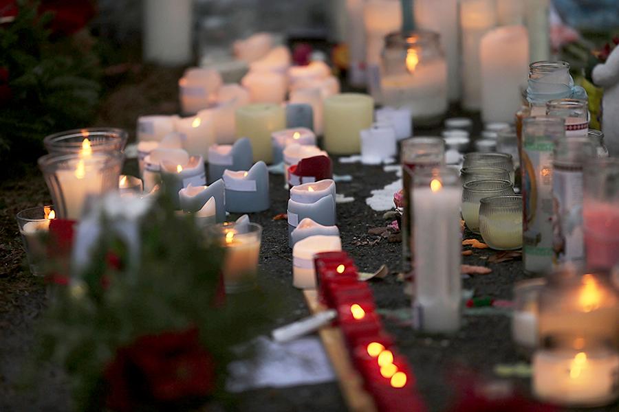 В Колорадо прошел траур по убитому полицейским лосю