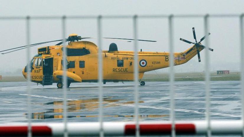 Семь человек эвакуированы с парома у берегов Великобритании, на котором произошёл пожар