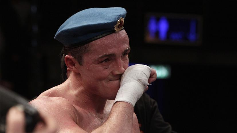 Денис Лебедев успешно защитил титул чемпиона мира