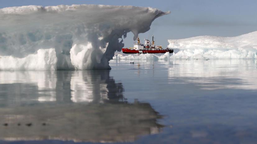 Корабли смогут проходить сквозь Северный полюс к 2050 году