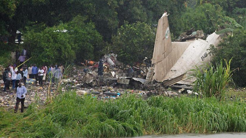 В Южном Судане потерпел крушение самолёт, погиб один россиянин
