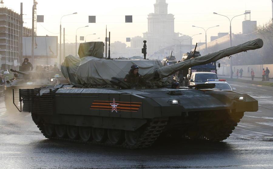Западные армии не были готовы к серийному производству «Арматы»
