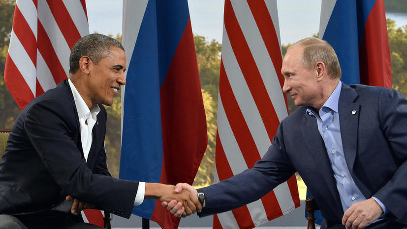 Владимир Путин и  Барак Обама обсудили по телефону «Женеву-2» и договорённости по Ирану