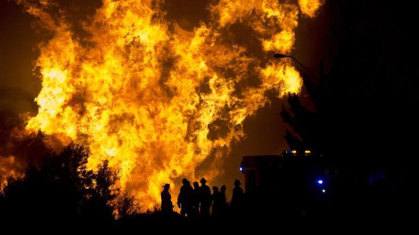 Пожар в Вальпараисо: 12 человек погибли, 2 тыс. зданий уничтожены