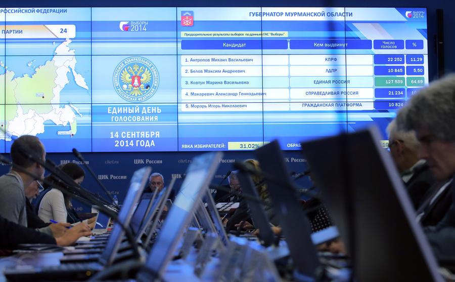 Единый день голосования: все действующие губернаторы остались на своих постах