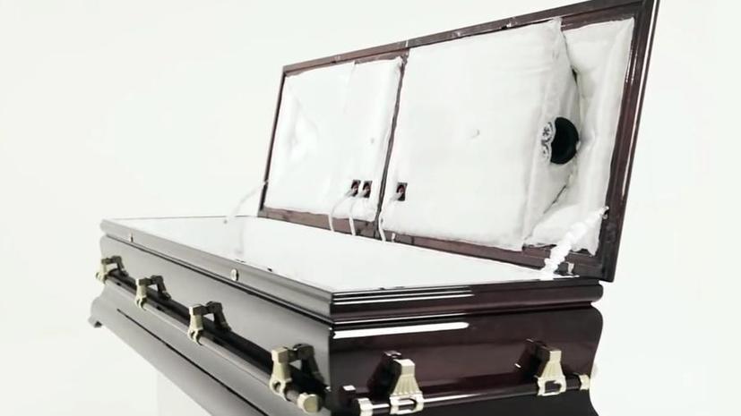 В Швеции в продажу поступили гробы со встроенной аудиосистемой