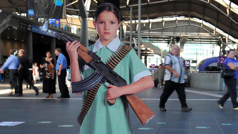 Британские школьники боятся нападений и ходят в школу с огнестрельным оружием