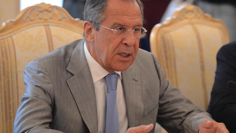 Сергей Лавров: Россия договаривается с Украиной о срочной доставке гуманитарной помощи в Донбасс