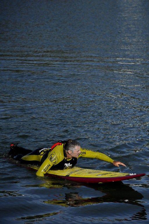 Американский серфингист покорил 30-метровую волну