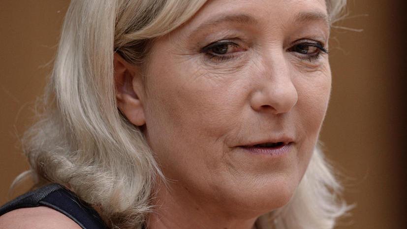 Марин Ле Пен: Решение взять кредит на предвыборную кампанию у российского банка - вне политики