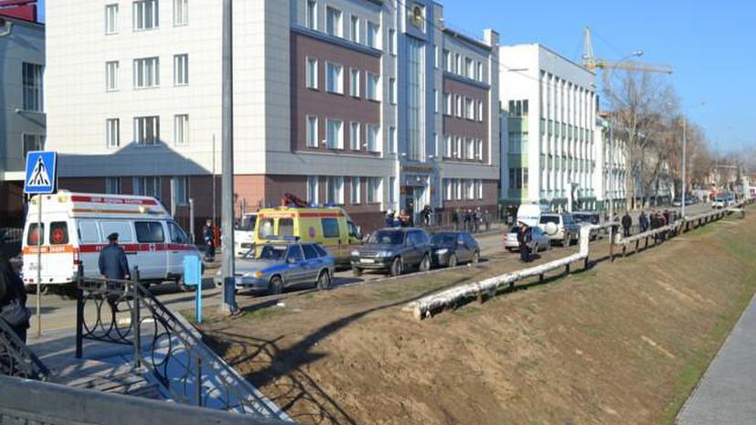 Астраханский террорист съел пиццу, но не освободил заложников