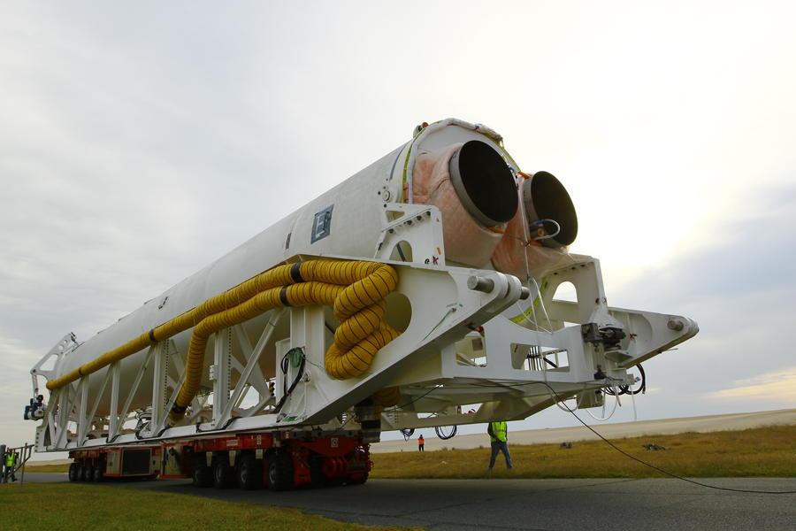 Частную ракету «Антарес» в последний момент решили не запускать