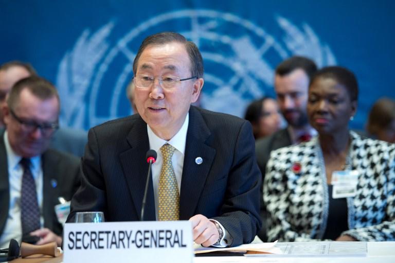 Пан Ги Мун: Боевые действия в Сирии должны быть немедленно прекращены