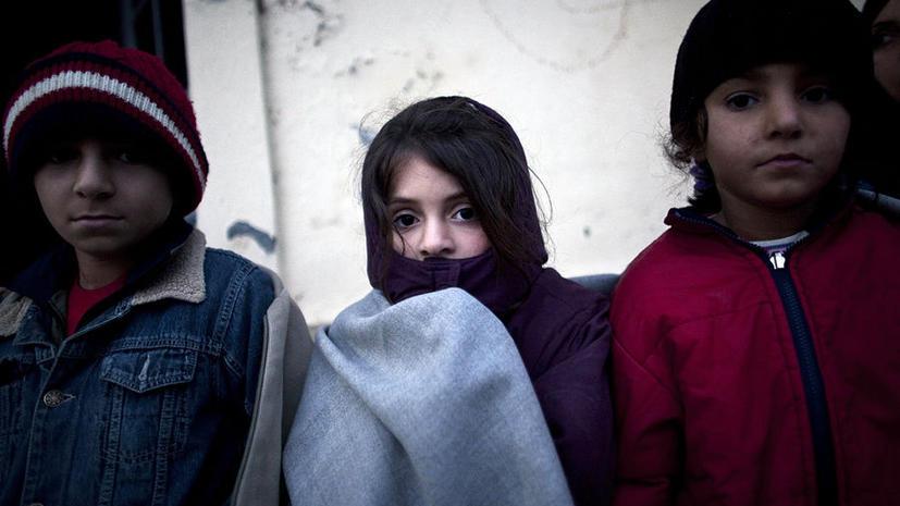 Исследование: Дети европейских стран-должников живут в нищете