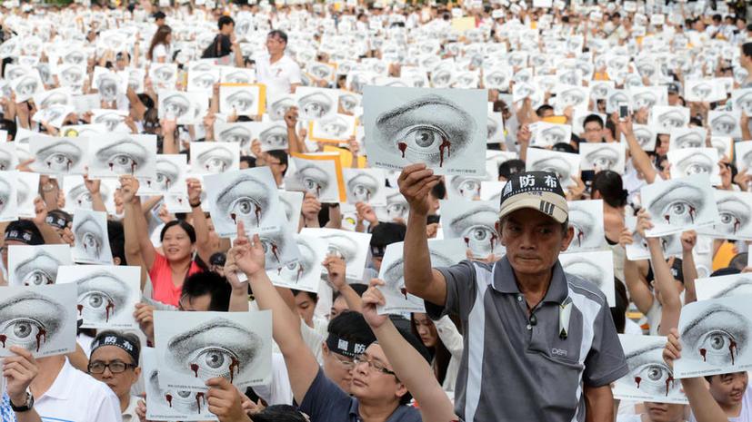 Смерть призывника на Тайване вызвала массовые протесты и отставку министра