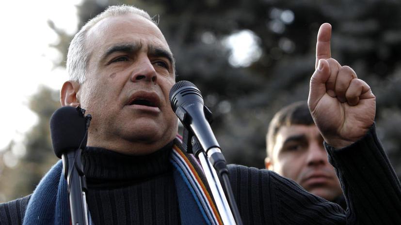 Лидер «привет-революции» в Армении объявил голодовку