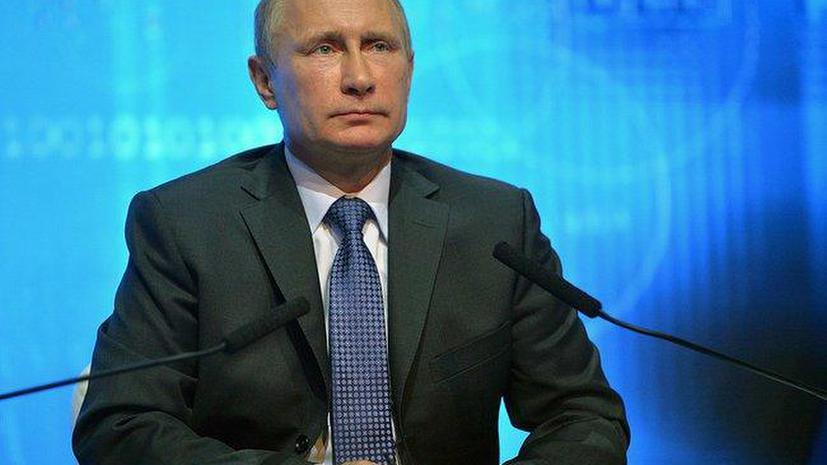 Французские журналисты признали Путина «главным действующим лицом» года