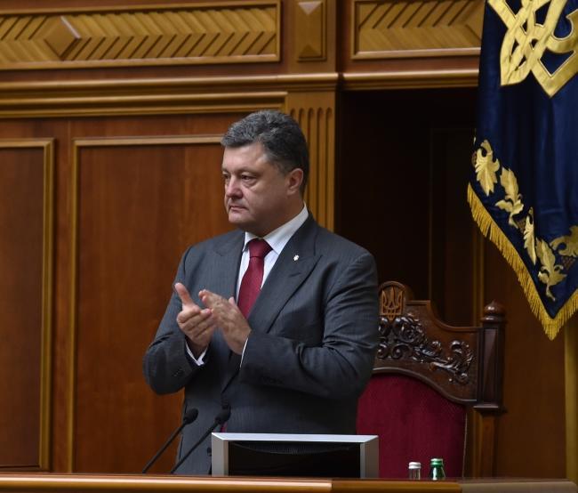 В ходе разговора с вице-президентом США Порошенко объявил о готовности вернуться к прекращению огня