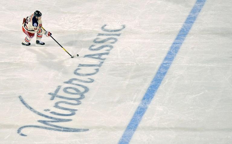 На американские арены приходит «Зимняя классика» НХЛ  - хоккей под открытым небом