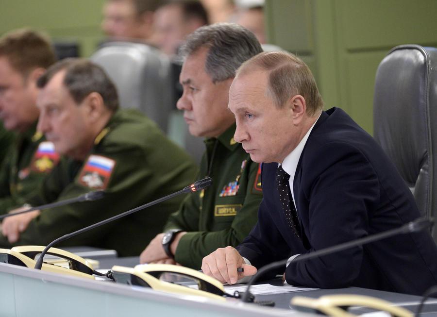 Владимир Путин: За несколько дней в Сирии был проделан большой объём работы