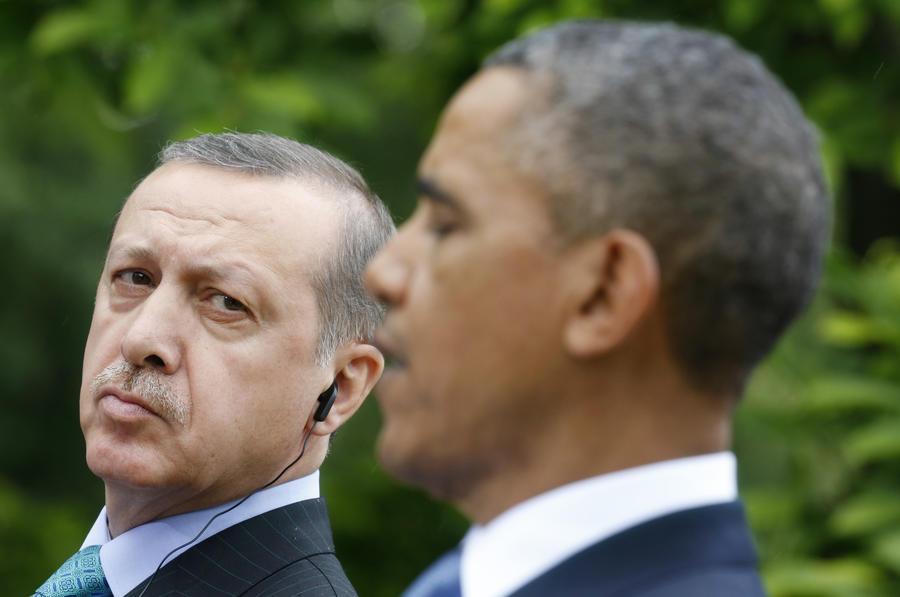 Этот неловкий момент: Эрдоган обиделся на Обаму за заочную критику