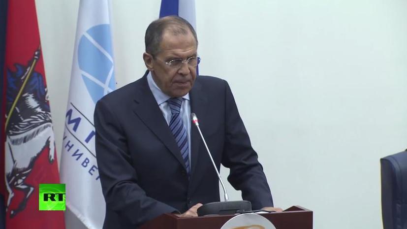 Сергей Лавров: Нельзя делать вид, что на Украине ничего не происходит