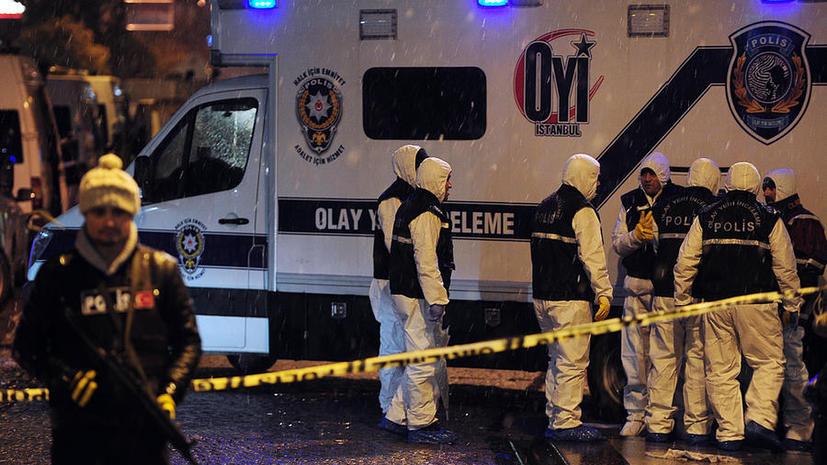 Полиция Турции выясняет причастность к взрыву в Стамбуле какой-либо террористической группировки