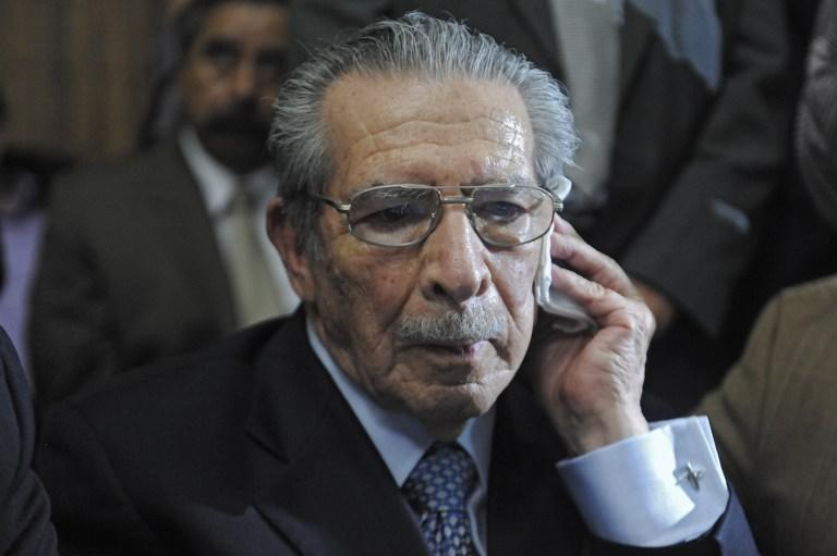 Бывший диктатор Гватемалы приговорён к 80-летнему заключению
