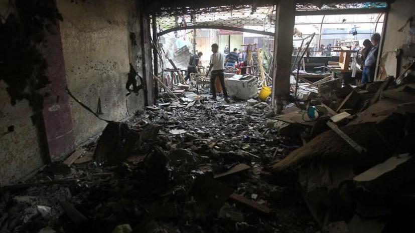 Жертвами двойного теракта в Багдаде стали 17 человек, 37 человек получили ранения