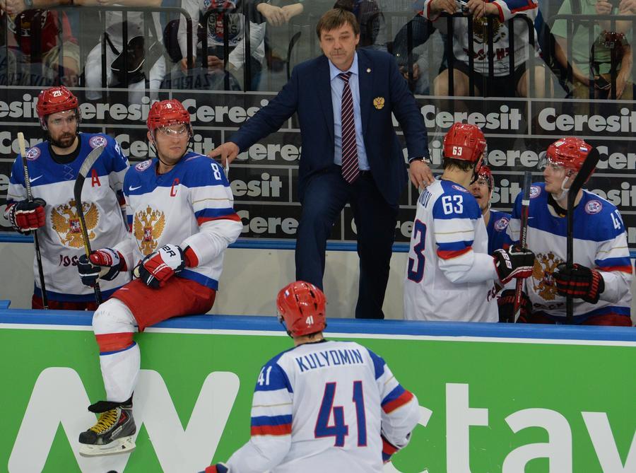Сегодня в Минске завершается Чемпионат мира по хоккею, сборная России поборется за золото без главного тренера