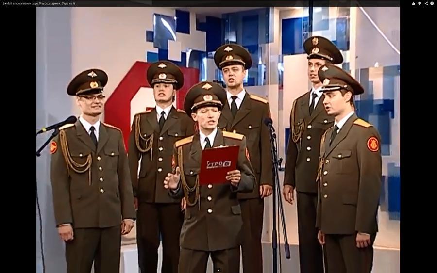 Российская армия покорила Европу голосом