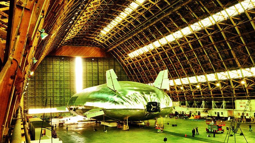Дирижабль из США побьет рекорды грузоподъемности