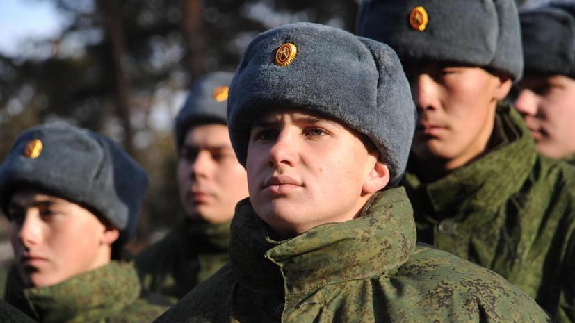 В России в 2013 году сократилось число уклонистов от службы в армии