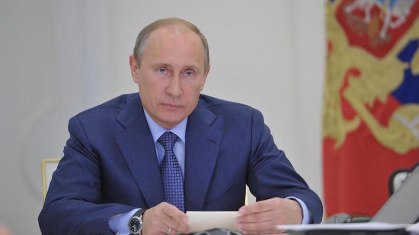 Путин недоволен планами министерств по исполнению майских указов
