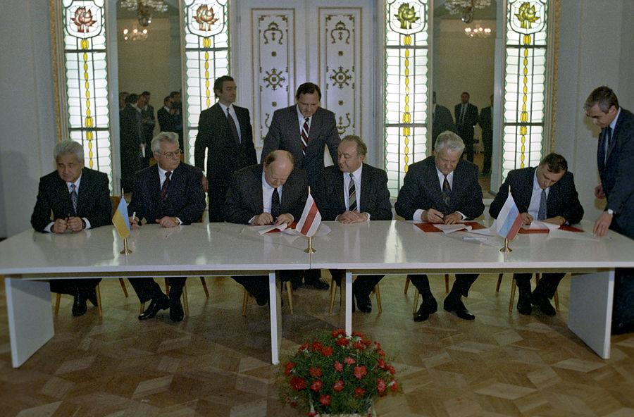 В Белоруссии украден оригинал Беловежского соглашения