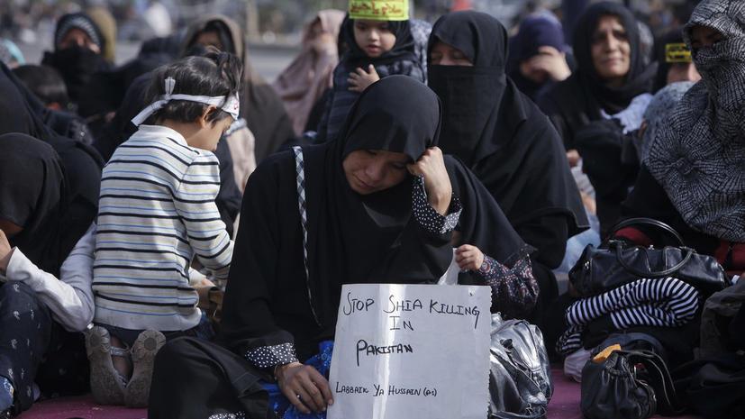 В Пакистане демонстранты требуют защитить шиитов от террористов