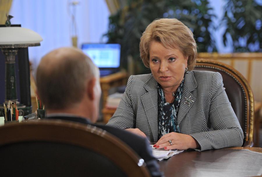 Матвиенко: Решение банка «Россия» стать национальным даст ему стратегическое преимущество