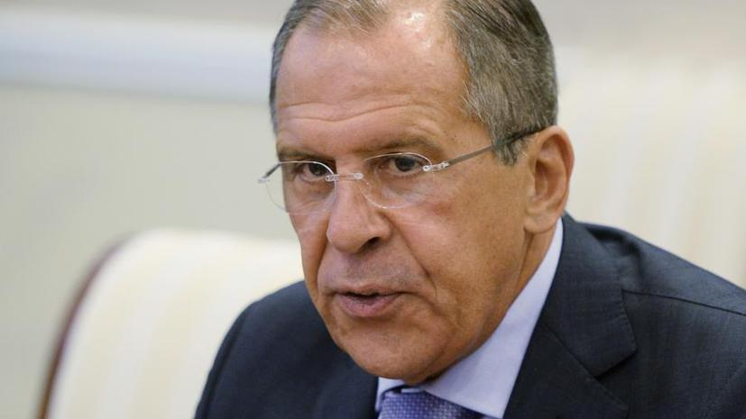 Сергей Лавров: С радикальными исламистами нельзя вести переговоры