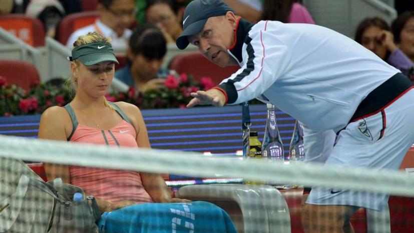 Мария Шарапова объявила о прекращении сотрудничества с тренером Томасом Хогстедтом