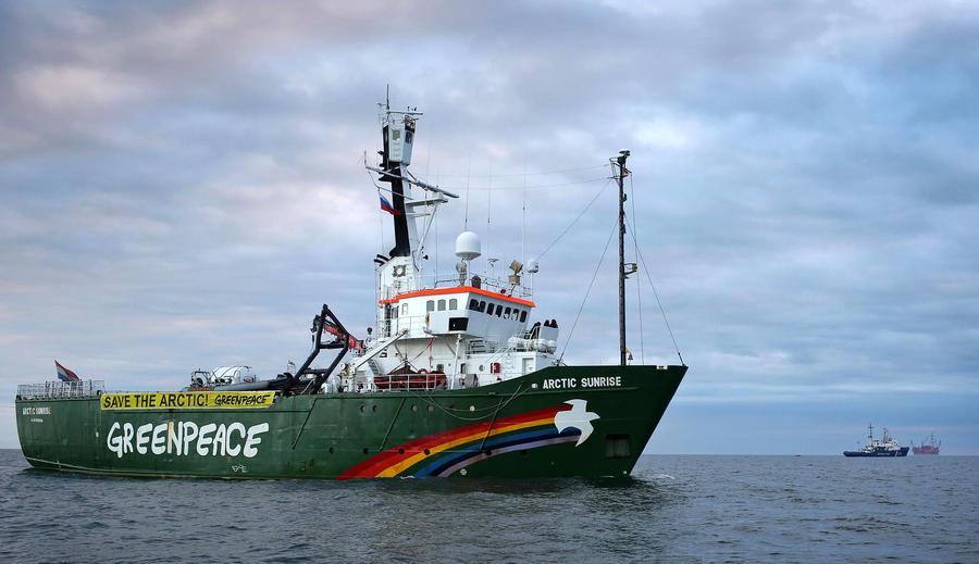 Расследовать действия команды ледокола Greenpeace будет Следственный комитет