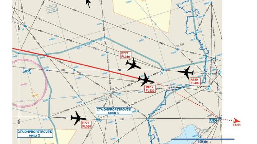 Нидерланды опубликовали предварительный доклад о крушении Boeing 777 на Украине