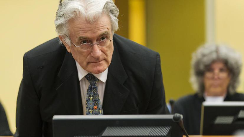 Караджичу — сорок: Гаагский трибунал приговорил бывшего лидера боснийских сербов