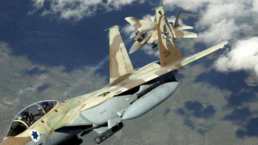 Израильская авиация начала бомбить Египет