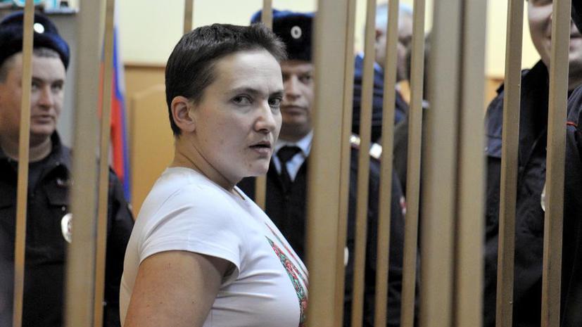 Следствие отказалось прекращать уголовное дело в отношении украинской лётчицы Надежды Савченко