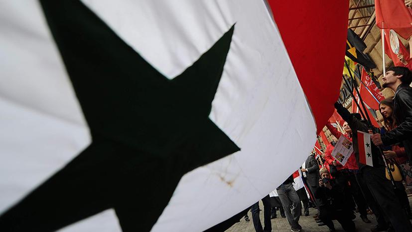 Против России готовится провокация на сирийской территории