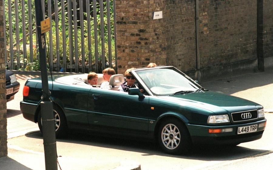 Принадлежавший принцессе Диане изумрудный Audi уйдёт с молотка