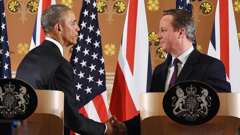В конец очереди: британцы подвергли резкой критике Барака Обаму за позицию по выходу из ЕС