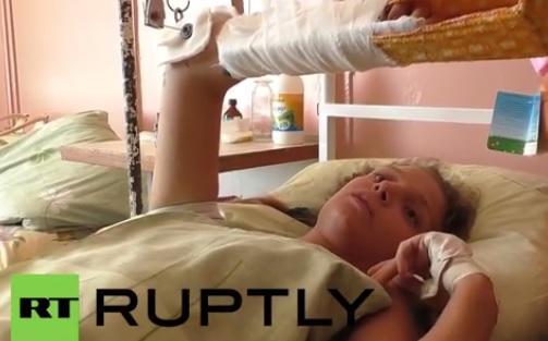 Донбасская школьница, раненная при артобстреле: Я впервые увидела, как умирают люди