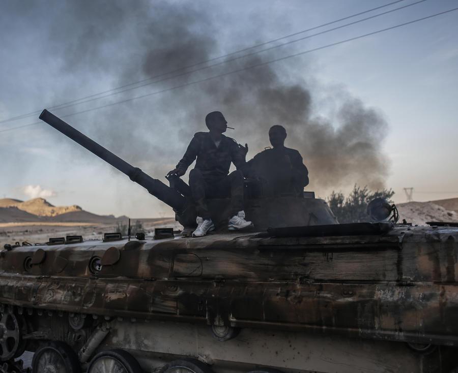 Сирийская армия взяла город Худжейра к югу от Дамаска