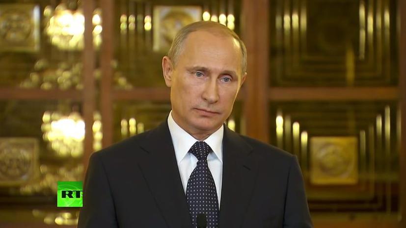 Владимир Путин: Санкции загоняют российско-американские отношения в тупик